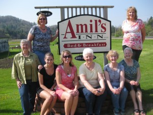 Ladies enjoying a great stay at Amil's Inn!