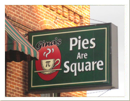 Gina's Pies Are Square