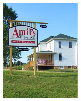 Amil's Inn Welcome Sign